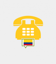 Colombia toll-free number