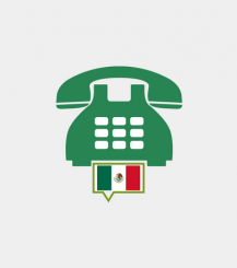 Mexico toll-free number
