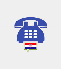 Croatia toll-free number